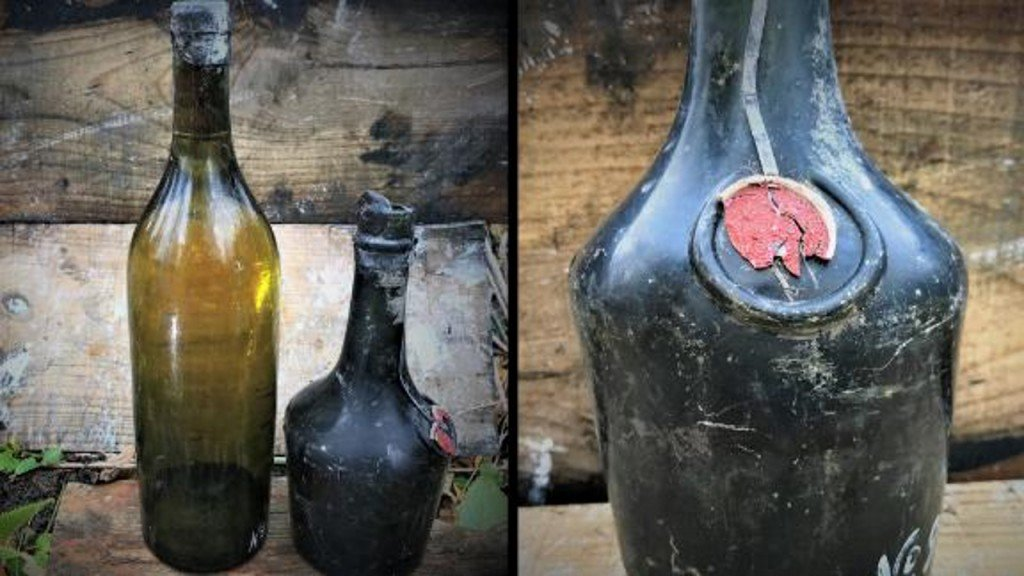Treasure hunters salvage liquor from 102-year-old WWI shipwreck