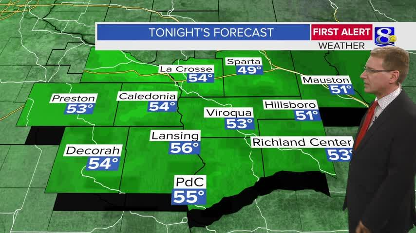 Your Wednesday Evening Weather Forecast