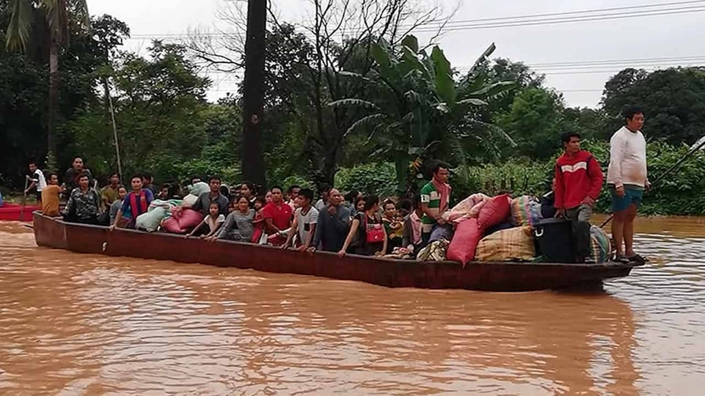 PM: Dam collapse worst disaster Laos has faced in decades