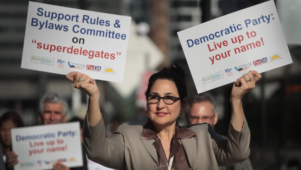 DNC changes superdelegate rules in presidential nomination process