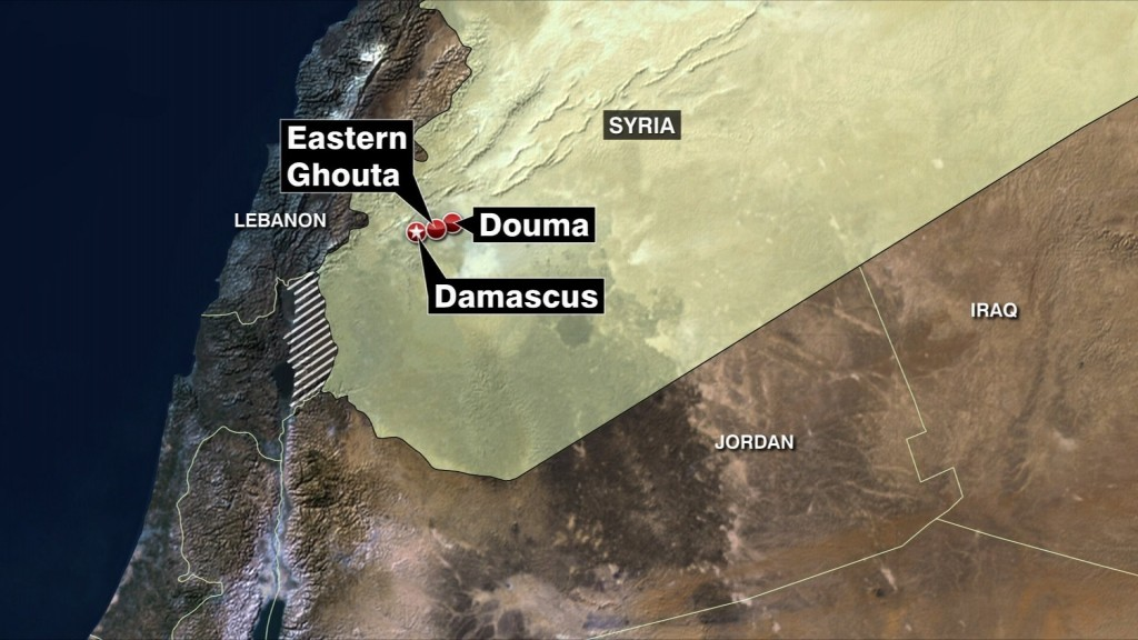 Chemical weapons experts not in Douma, State Department says