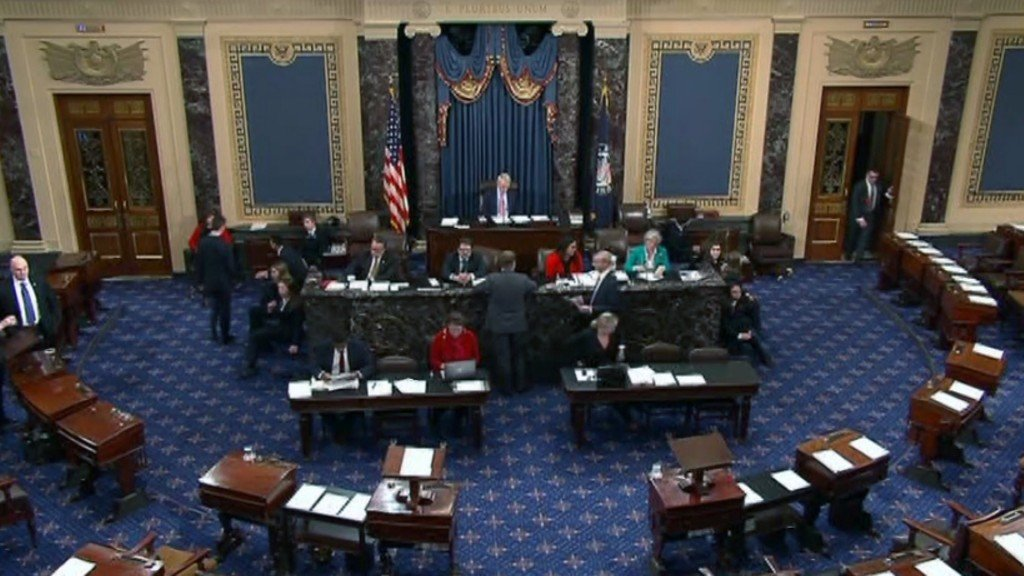 Partial government shutdown to continue until after Christmas