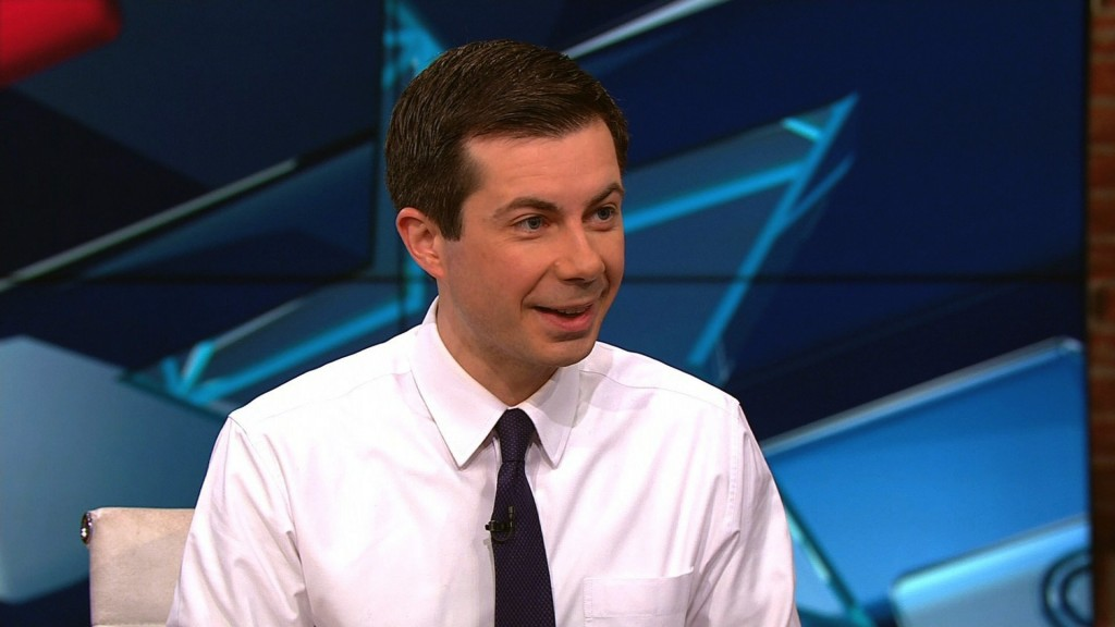 Buttigieg wants to 'live a life that's worthy' of fellow service members