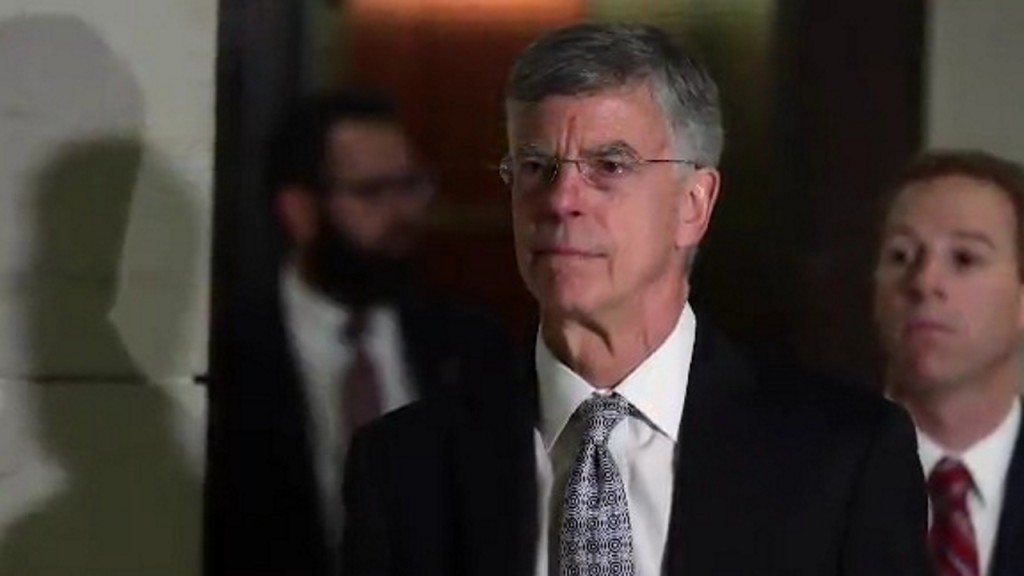 Bill Taylor willing to testify publicly in impeachment probe