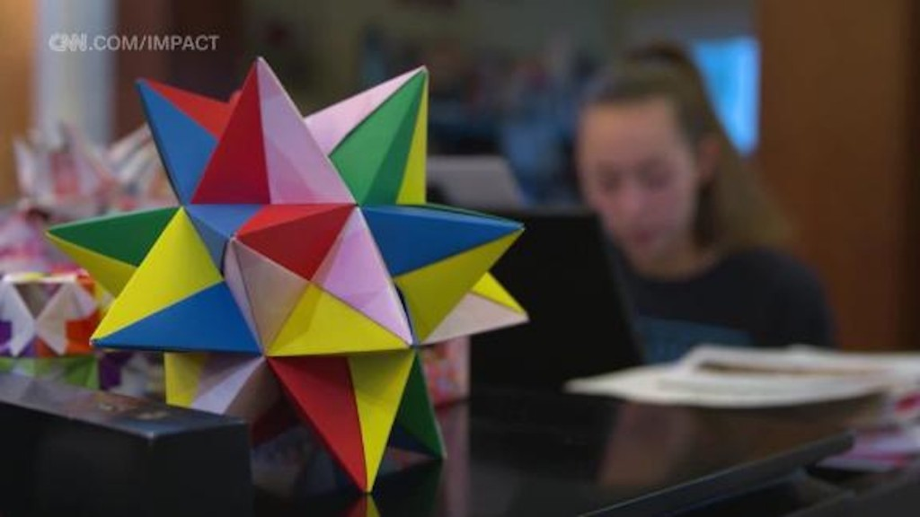 Teen sisters turn origami into fund for clean water projects