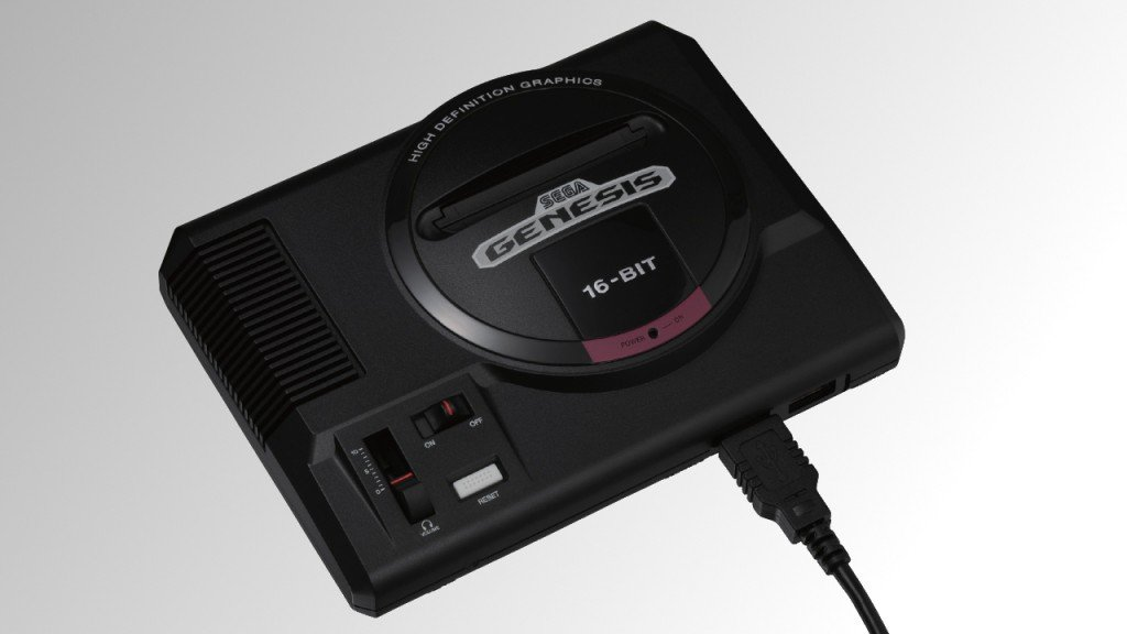 Sega returns with nostalgic console from late 80s