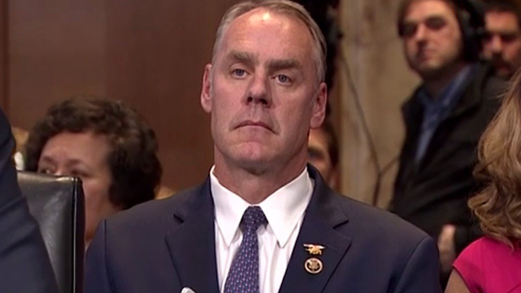 Menendez: Zinke is on a path to a 'lily-white' department