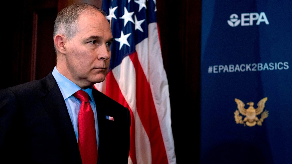EPA watchdog expects to complete Pruitt travel review this summer