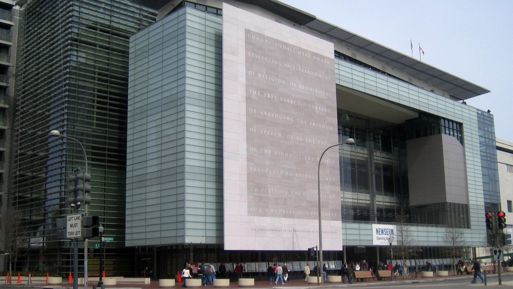 Newseum closing down after 12 years in Washington