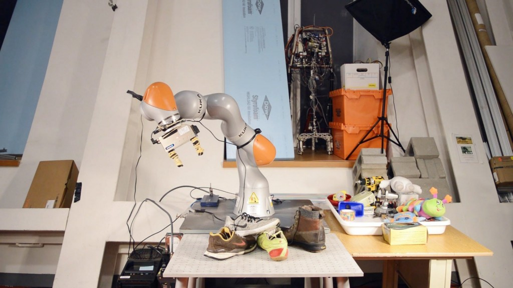 This robot could clean up your mess