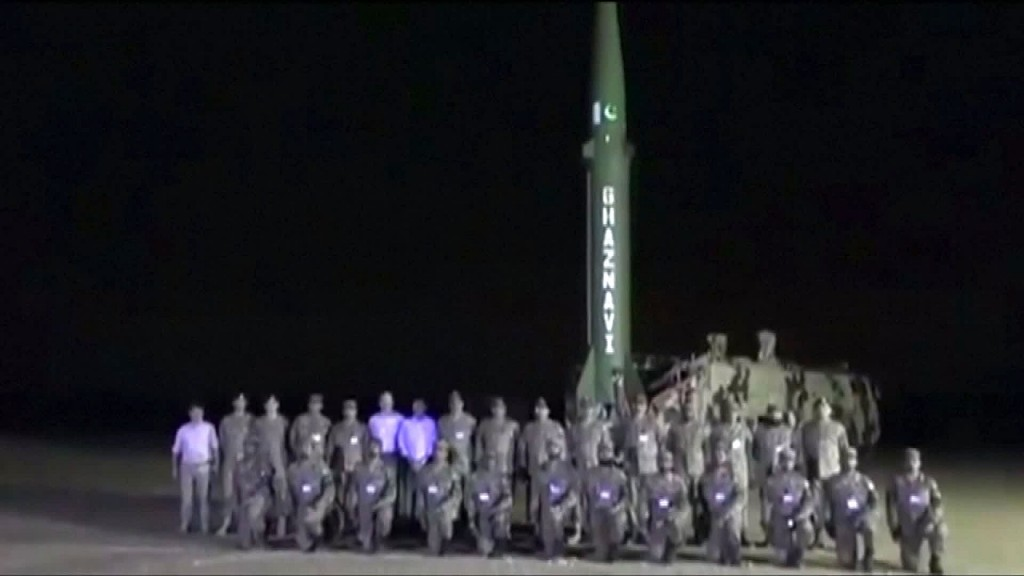 Pakistan tests ballistic missile amid ongoing tensions with India