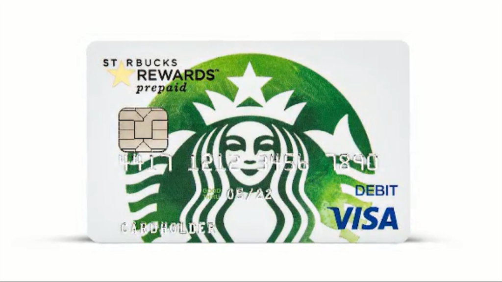 Starbucks and Chase team up for a prepaid card