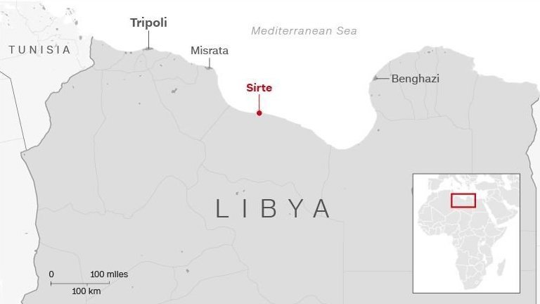 Scores of migrants feared dead after boat capsizes off Libya