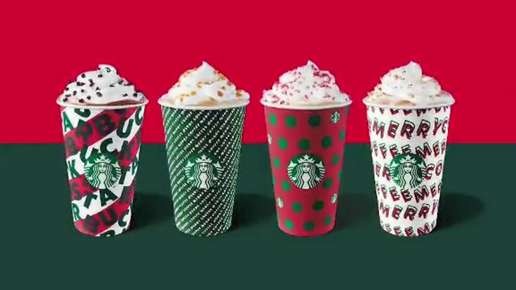 Starbucks' holiday cups will be back this week