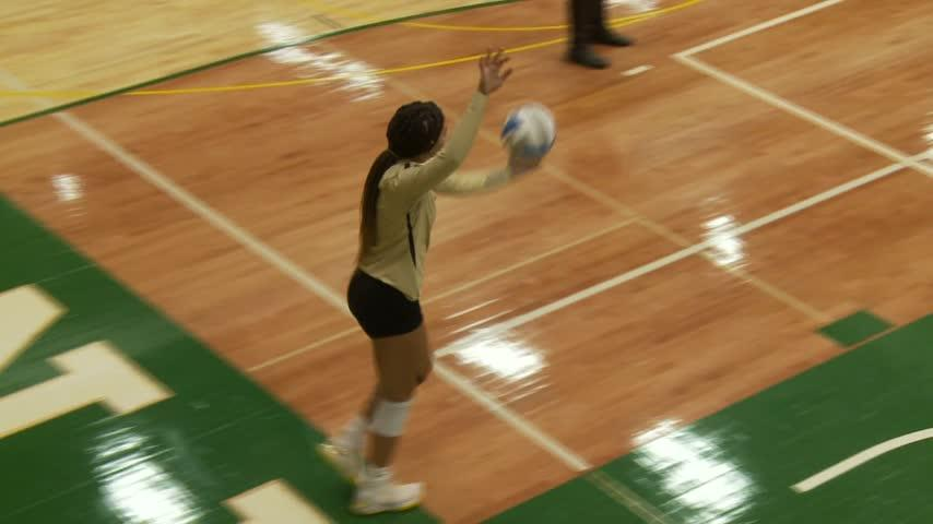 Caledonia volleyball takes on Rushford-Peterson