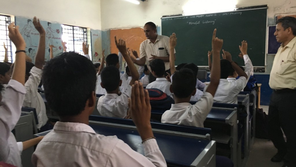 Latest class on the Indian curriculum: Happiness
