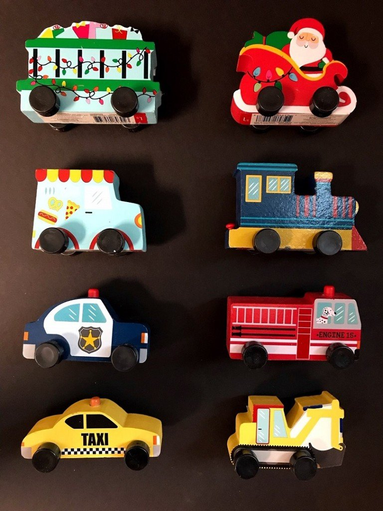 Target recalls wooden toy cars that pose choking risk