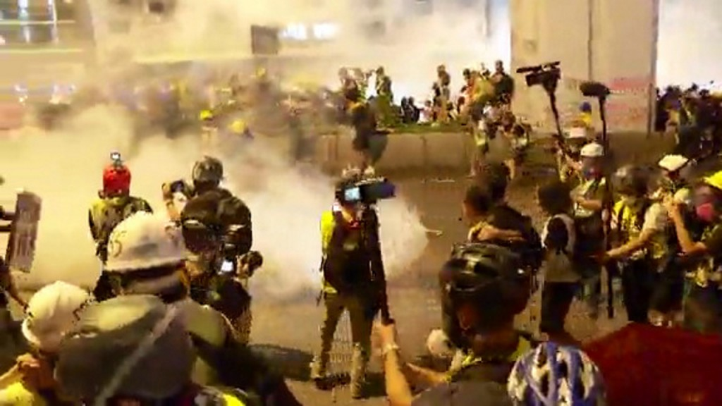 Chinese state media issues dire warning to Hong Kong