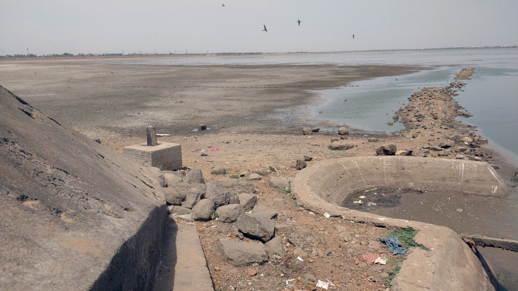 Water shortage affects city in India
