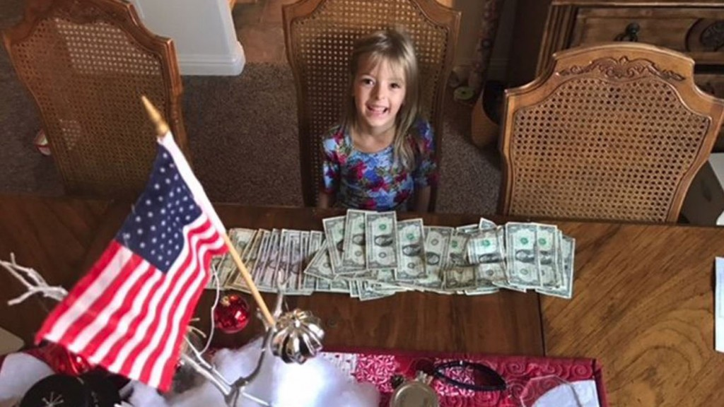 Girl gives savings to fund for fallen firefighters