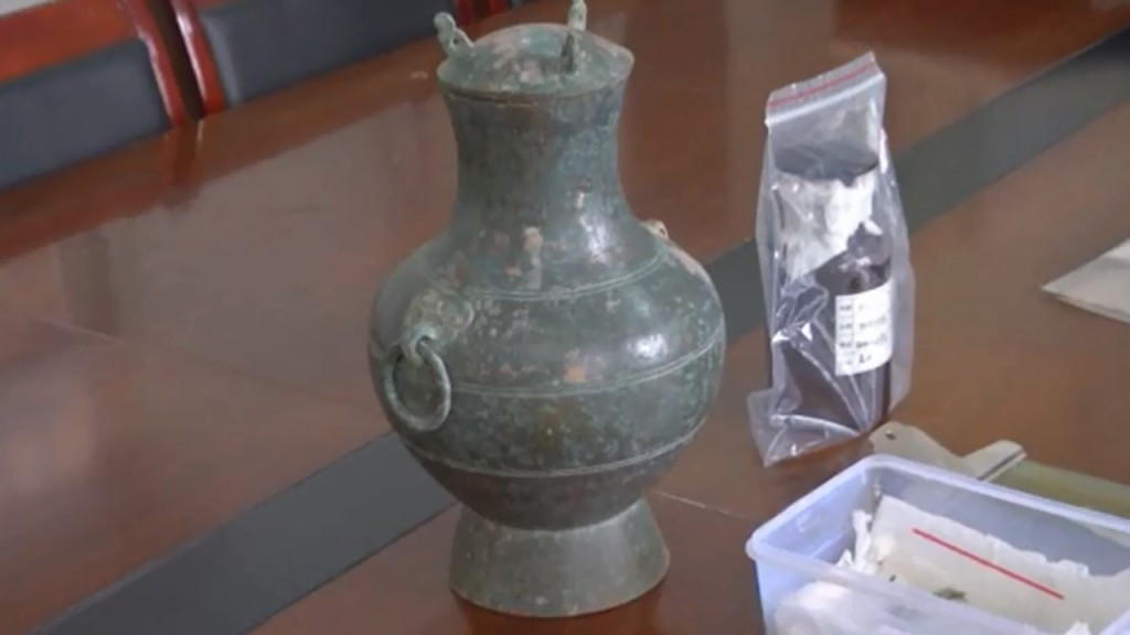 Archaeologists find 2,000-year-old liquor in Chinese tomb
