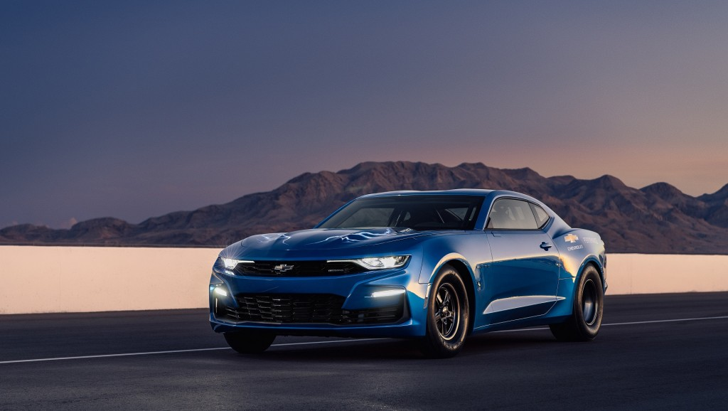 GM unveils 700-horsepower electric Camaro