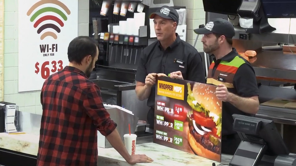 Burger King trolls net neutrality repeal with Whopper 'fast lane' ad
