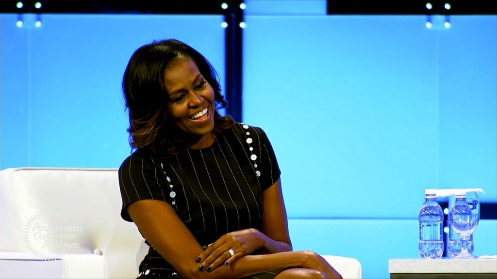 Michelle Obama is selling out arenas on her book tour
