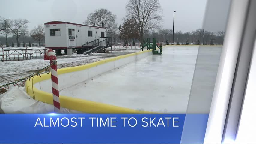 Chad Erickson Memorial Rink may open soon at Rotary Lights in La Crosse
