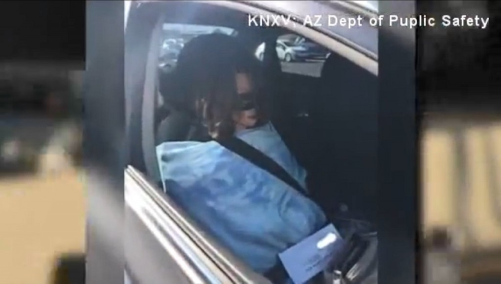 Woman busted for driving in HOV lane with mannequin