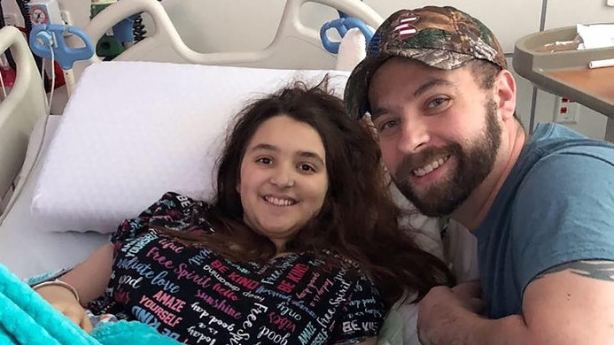 14-year-old beat stage 4 cancer in time to make it home for Christmas