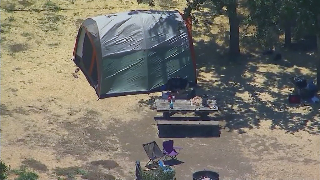 Man fatally shot while camping with his young daughters in California