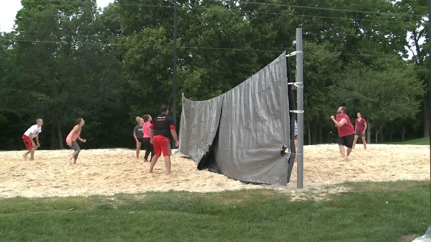 Blind Volleyball