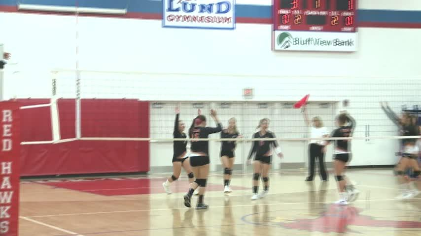 Central-Logan City Volleyball matchup goes to five sets