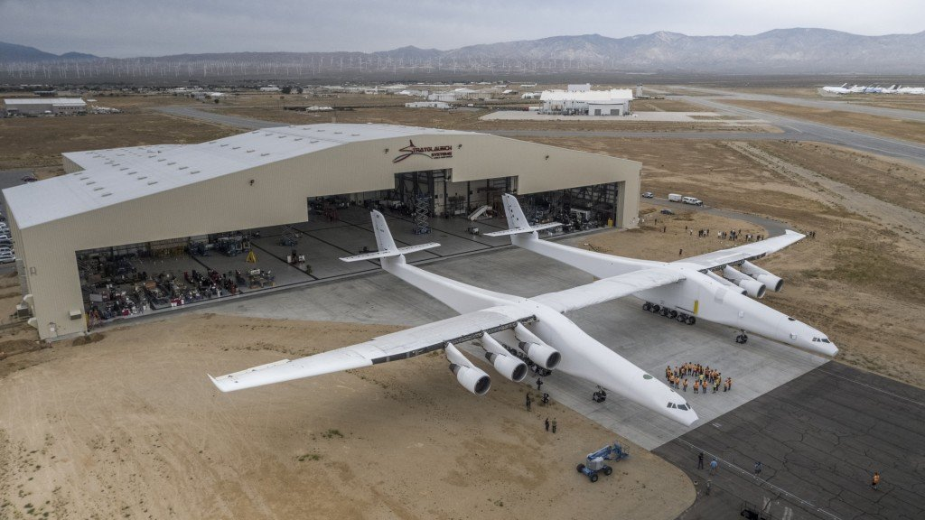 World's largest plane is about to fly for the first time