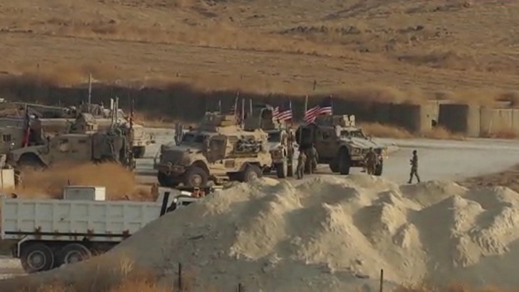 Largest US troop withdrawal from Syria