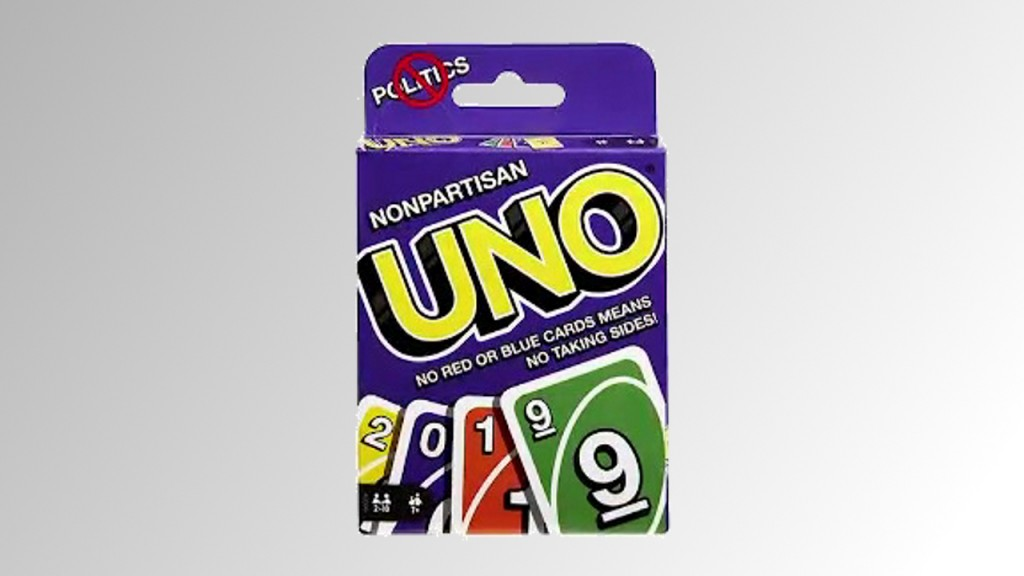 New Uno deck promises to keep families away from politics