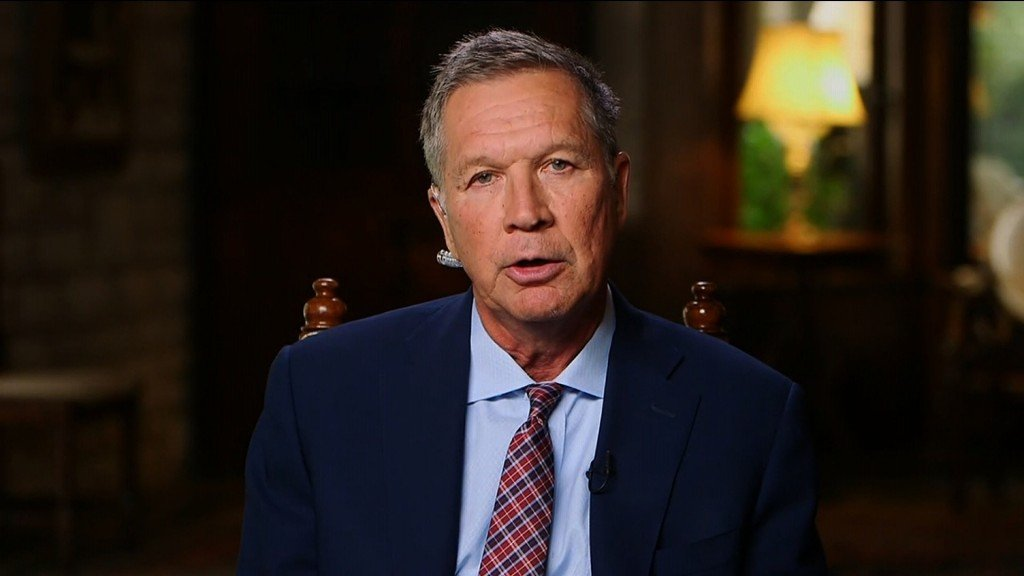 Former Ohio Gov. John Kasich says he's now for impeaching Trump
