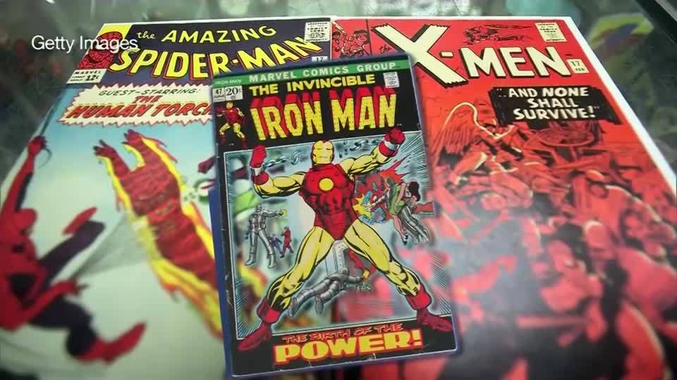 Marvel comic book sells for record $1.26 million