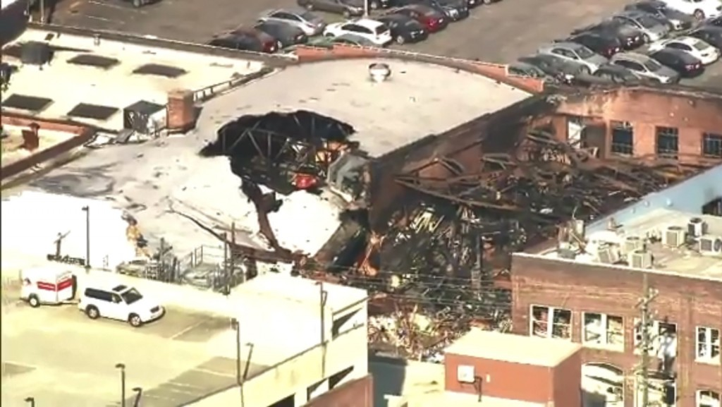 9 firefighters injured in North Carolina gas explosion
