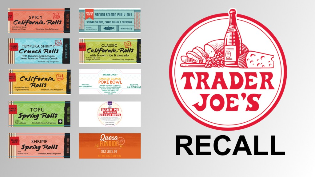 Trader Joe's recalls products over possible listeria contamination