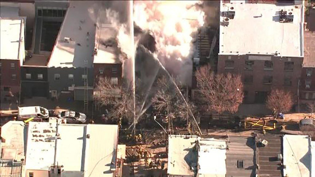 2 bodies recovered from Philadelphia row house fire