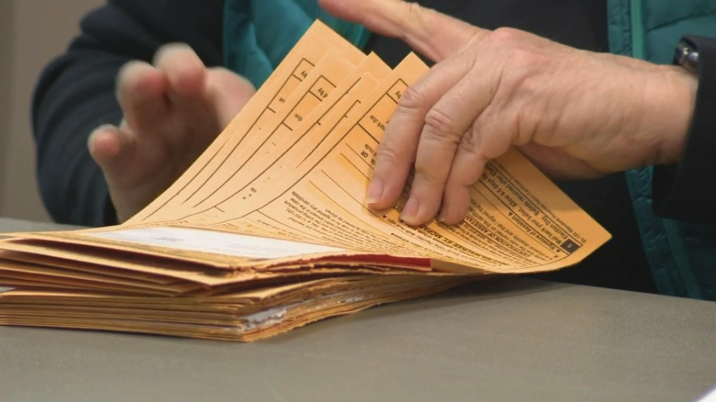 Absentee Voting Requests Up