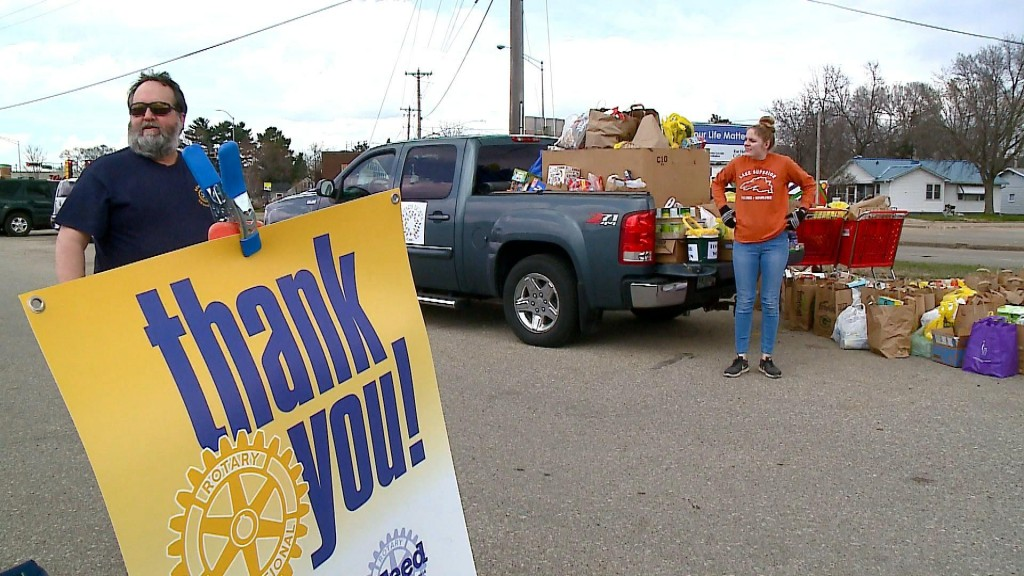 Food Drive Fridays Donation