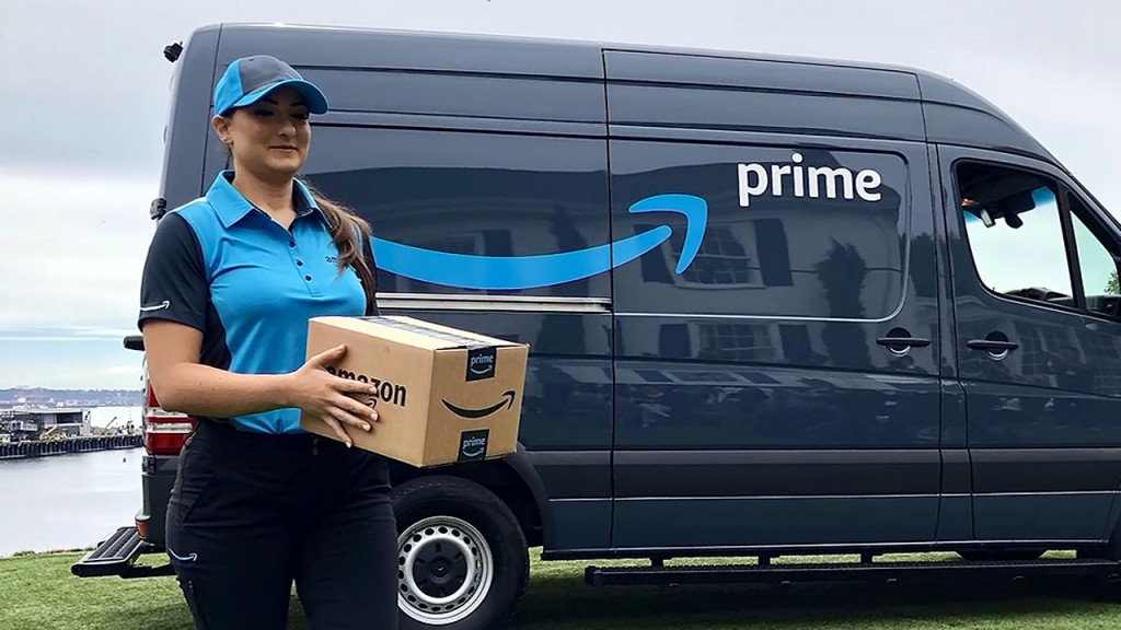 Amazon is 20,000 vans closer to replacing the post office