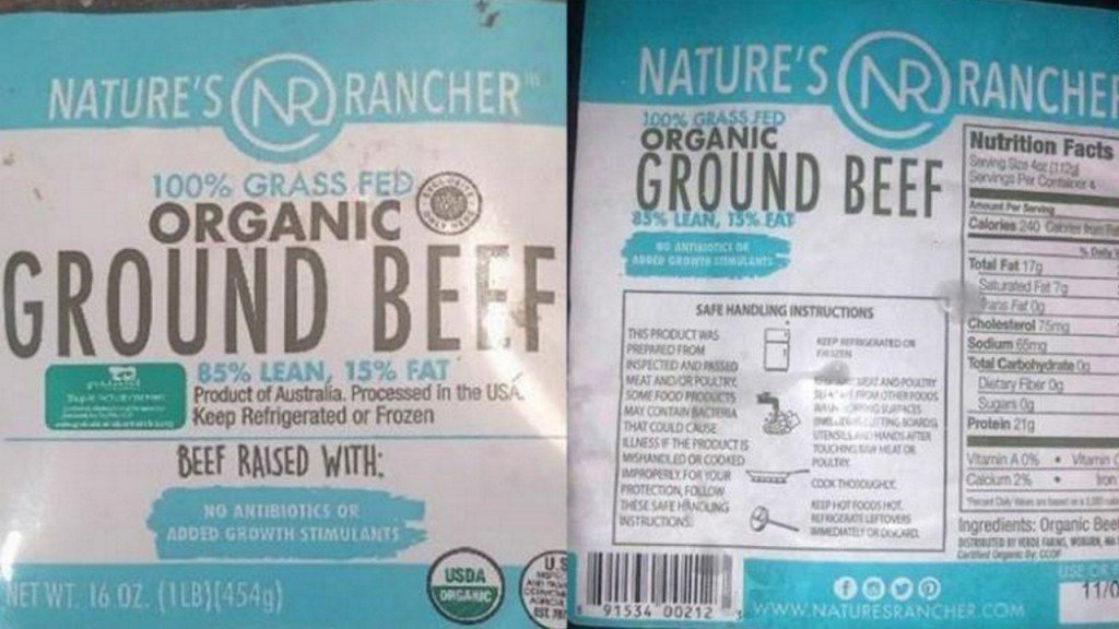 More than 130,000 pounds of ground beef recalled for plastic