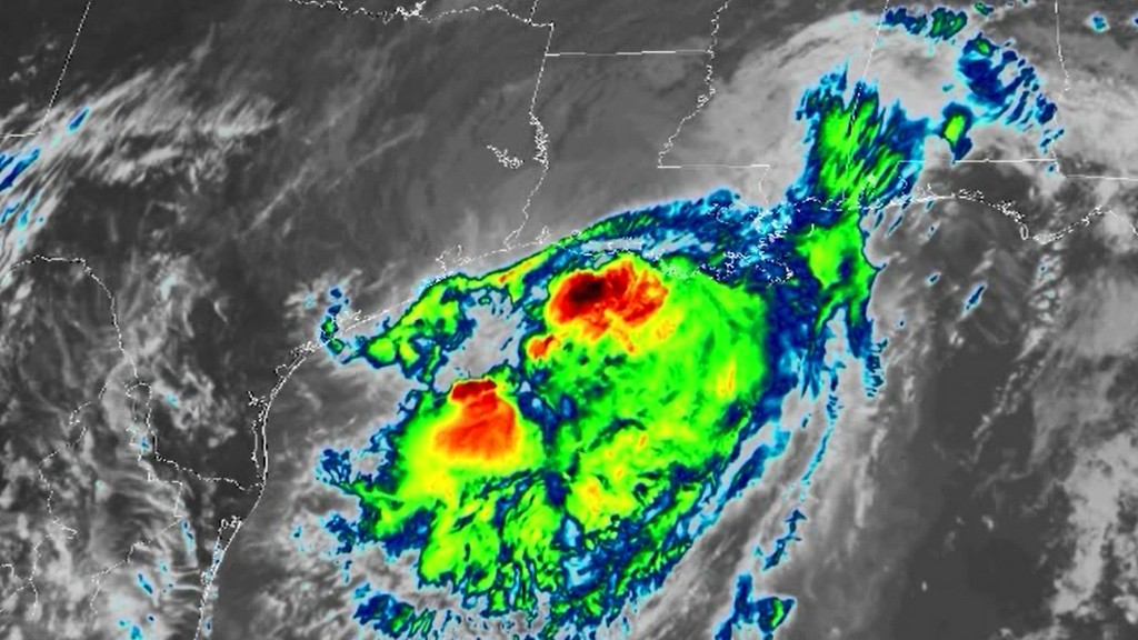 Barry moves deeper into Louisiana with more rain on the way