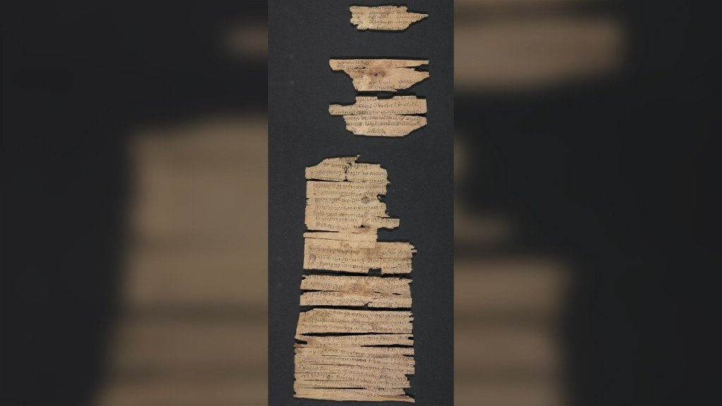 Rare 2,000-year-old scroll about early Buddhism made public