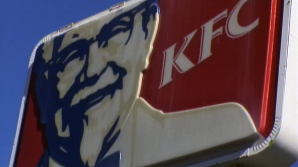 KFC will test a vegetarian alternative in UK