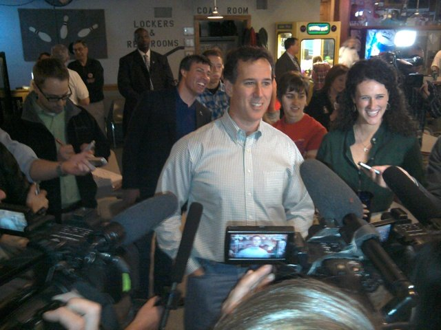 Rick Santorum in Coulee Region